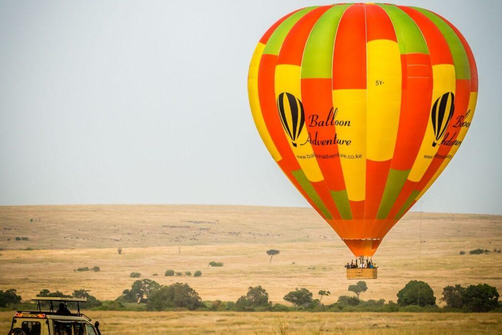 This image has an empty alt attribute; its file name is Maasai-Mara-Scenery-from-Balloon-Safari--1024x683.jpg